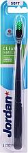 Parfüm, Parfüméria, kozmetikum Fogkefe, lágy, gránátalma-zöld - Jordan Clean Smile Soft