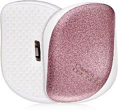 Parfüm, Parfüméria, kozmetikum Kompakt hajkefe - Tangle Teezer Compact Styler Glitter Rose
