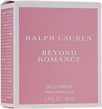 Parfüm, Parfüméria, kozmetikum Ralph Lauren Beyond Romance - Eau De Parfum