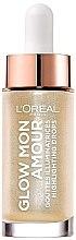 Parfüm, Parfüméria, kozmetikum Folyékony highlighter - L'Oreal Paris Glow Mon Amour