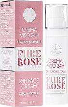 Parfüm, Parfüméria, kozmetikum Hidratáló arckrém - Erbario Toscano Pure Rose 24H Face Cream