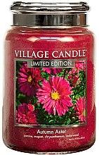 Parfüm, Parfüméria, kozmetikum Aroma gyertya - Village Candle Autumn Aster Glass Jar