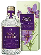 Parfüm, Parfüméria, kozmetikum Maurer & Wirtz 4711 Acqua Colonia Saffron & Iris - Kölni