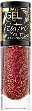 Parfüm, Parfüméria, kozmetikum Körömlakk - Eveline Cosmetics 7 Days Gel Laque Festive Glitters