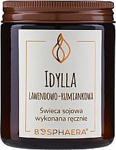 """Parfüm, Parfüméria, kozmetikum Illatosított szójagyertya """"Levendula és kamilla"""" - Bosphaera"""