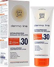 Parfüm, Parfüméria, kozmetikum Hipoallergén önbarnító testápoló - DAX Sun Dermo Line Body Lotion SPF 30