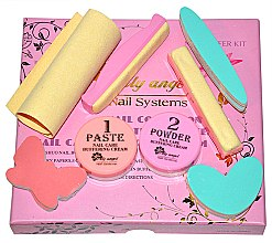 Parfüm, Parfüméria, kozmetikum Japán manikűr készlet - Silcare Lily Angel Nail Systems