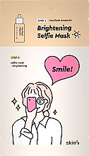 Parfüm, Parfüméria, kozmetikum Kétfázisú világosító arcmaszk - Skin79 Brightening Selfie Mask