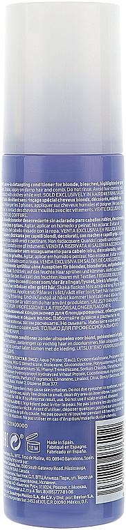 Keratinos kondicionáló szőkített hajra - Revlon Professional Equave 2 Phase Blonde Detangling Conditioner — fotó N4