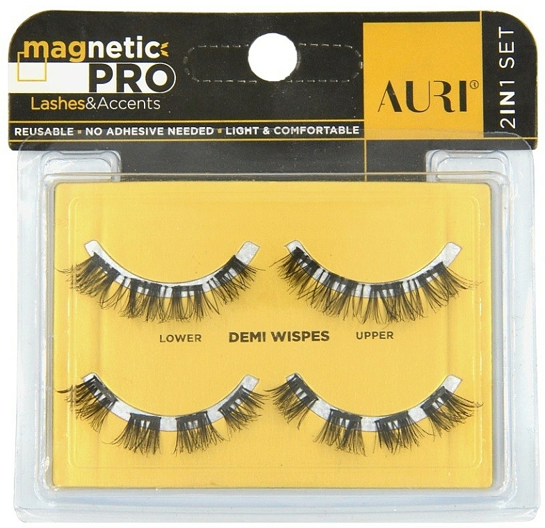 Mágneses szempilla - Auri Magnetic Pro Demi Wispies