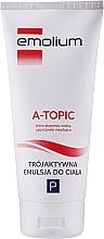 Parfüm, Parfüméria, kozmetikum Test emulzió - Emolium A-topic Emulsion