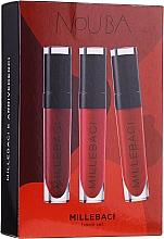 Parfüm, Parfüméria, kozmetikum Szett - NoUBA Millebaci Travel Set №1 (lipstick/3x6ml)