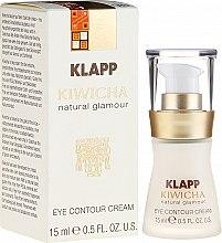 Parfüm, Parfüméria, kozmetikum Szemkörnyékápoló krém-fluid - Klapp Kiwicha Eye Contour Cream