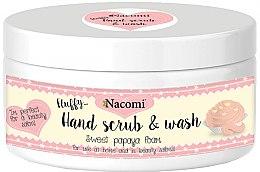 Parfüm, Parfüméria, kozmetikum Kézradír papaya ilattal - Nacomi Sweet Papaya Hand Scrub & Wash