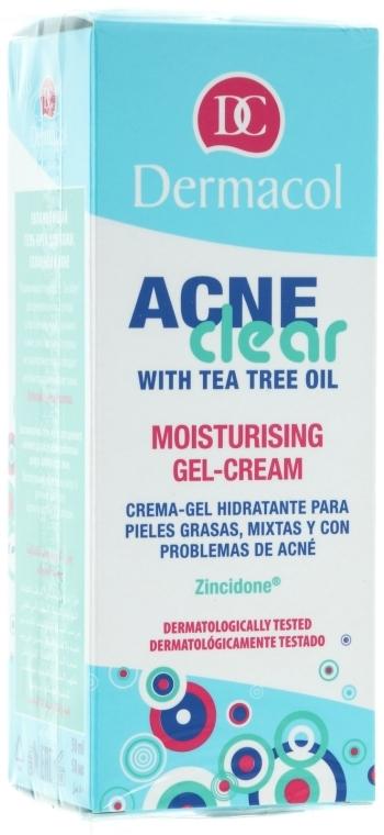 Hidratáló gélkrém - Dermacol Acne Clear Moisturising Gel-Cream