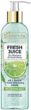 Parfüm, Parfüméria, kozmetikum Micellás gél - Bielenda Fresh Juice Detox Lime