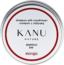 Parfüm, Parfüméria, kozmetikum Sampon 2 az 1, fém dobozban - Kanu Nature Shampoo With Conditioner Shampoo Bar Mango
