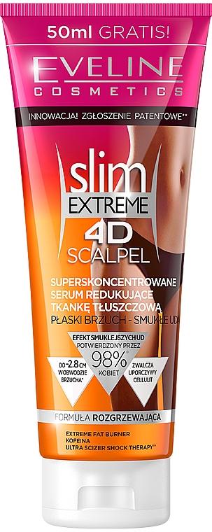 """Narancsbőr elleni szérum """"Szuper-koncentrátum"""" - Eveline Cosmetics Slim Extreme 4D Scalpel"""