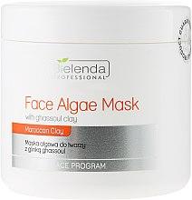 Parfüm, Parfüméria, kozmetikum Alginát arcmaszk Gassul agyaggal - Bielenda Professional Algae Face Mask