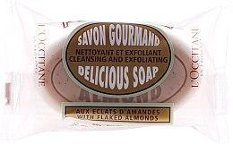Parfüm, Parfüméria, kozmetikum Puha mandulaillatú szappan - L'Occitane Almond Delicious Soap