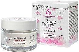 Parfüm, Parfüméria, kozmetikum Éjszakai arckrém - Bulgarian Rose Rose Berry Nature Night Cream