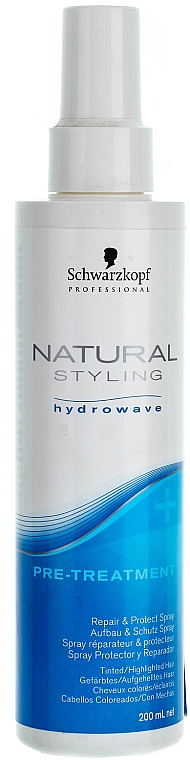 Hajápoló spray - Schwarzkopf Professional BC Bonacure Natural Styling Pre Treatment Protect & Repair