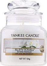 """Parfüm, Parfüméria, kozmetikum Aromagyertya """"Bolyhos törölköző"""" - Yankee Candle Fluffy Towels"""