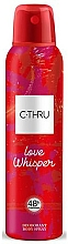 Parfüm, Parfüméria, kozmetikum C-Thru Love Whisper - Testdezodor