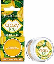 "Parfüm, Parfüméria, kozmetikum ""Banán"" ajak olaj - Bielenda Crazy Kiss Banana Lip Butter"