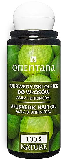 Ayurvédikus hajolaj - Orientana Amla & Bhringraj Ayurvedic Hair Oil