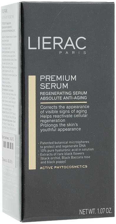 Ránctalanító regeneráló szérum - Lierac Exclusive Premium Serum Regenerant — fotó N4