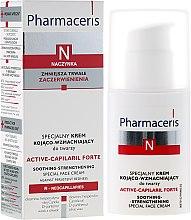 Parfüm, Parfüméria, kozmetikum Bőrnyugtató-feszesítő arckrém - Pharmaceris N Active-Capilaril Forte Cream