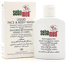Parfüm, Parfüméria, kozmetikum Fürdő emulzió arcra és testre - Sebamed Liquid Face & Body Wash