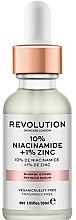 Parfüm, Parfüméria, kozmetikum Pórustágító szérum - Revolution Skincare 10% Niacinamide + 1% Zinc
