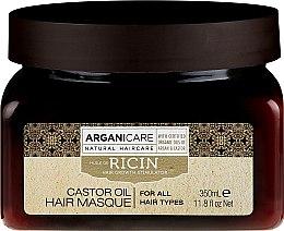 Parfüm, Parfüméria, kozmetikum Hajnövesztő maszk - Arganicare Castor Oil Hair Masque