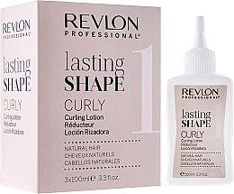 Parfüm, Parfüméria, kozmetikum Dauervíz készlet - Revlon Professional Lasting Shape Curly Lotion Natural Hair (lot/3x100ml)