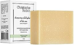 Parfüm, Parfüméria, kozmetikum Szilárd sampon aloe verával - Christophe Robin Hydrating Shampoo Bar with Aloe Vera