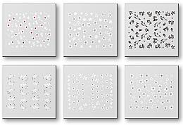 Parfüm, Parfüméria, kozmetikum Körömmatrica szett 42928 - Top Choice Nail Decorations Stickers Set