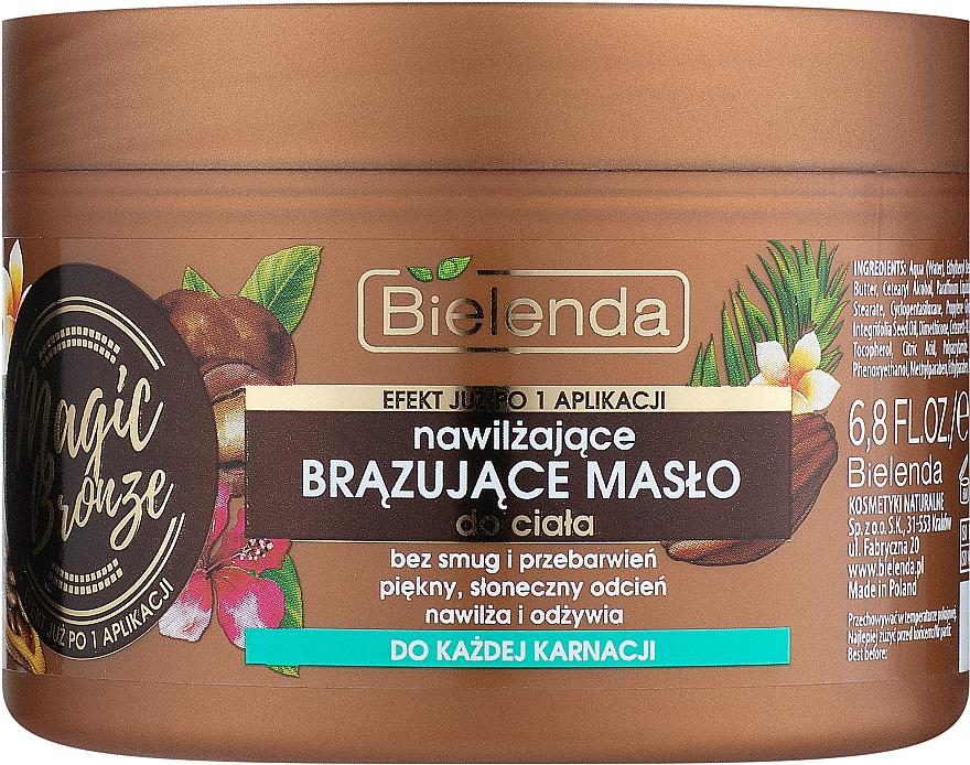 Bronzosító testolaj - Bielenda Magic Bronze Moisturizing Bronzing Body Butter