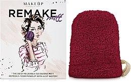 """Parfüm, Parfüméria, kozmetikum Sminkeltávolító kesztyű """"ReMake"""", bordó - MakeUp"""