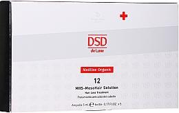 Parfüm, Parfüméria, kozmetikum Mezoterápiás készítmény - Simone DSD De Luxe Medline Organic 12 MHS – Mesohair Solution Hair Loss Treatment