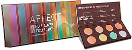 Parfüm, Parfüméria, kozmetikum Korrektor paletta - Affect Cosmetics Full Cover Collection