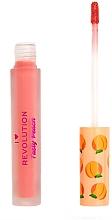 Parfüm, Parfüméria, kozmetikum Folyékony ajakrúzs - I Heart Revolution Liquid Lipstick Tasty Peach
