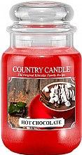 Parfüm, Parfüméria, kozmetikum Illatgyertya üvegben - Country Candle Hot Chocolate