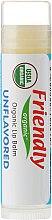 """Parfüm, Parfüméria, kozmetikum Ajakbalzsam """"Illatmentes"""" - Friendly Organic Lip Balm Unflavored"""