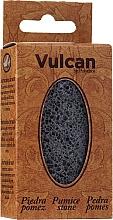 Parfüm, Parfüméria, kozmetikum Habkő, 84x44x32mm, Dark Grey - Vulcan Pumice Stone