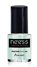 Parfüm, Parfüméria, kozmetikum Körömápoló olaj - Neess Perfume Mani Oil Primrose