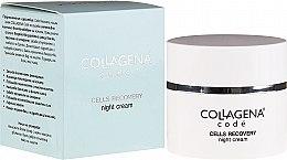 Parfüm, Parfüméria, kozmetikum Éjszakai arckrém - Collagena Code Cells Recovery Night Cream