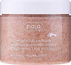 Parfüm, Parfüméria, kozmetikum Simító és puhító radír pedikűrhöz - Ziaja Pro Scrub Pedicure