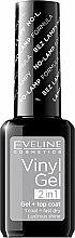 Parfüm, Parfüméria, kozmetikum Gél lakk - Eveline Cosmetics Vinyl Gel 2In1 Gel+Top Coat
